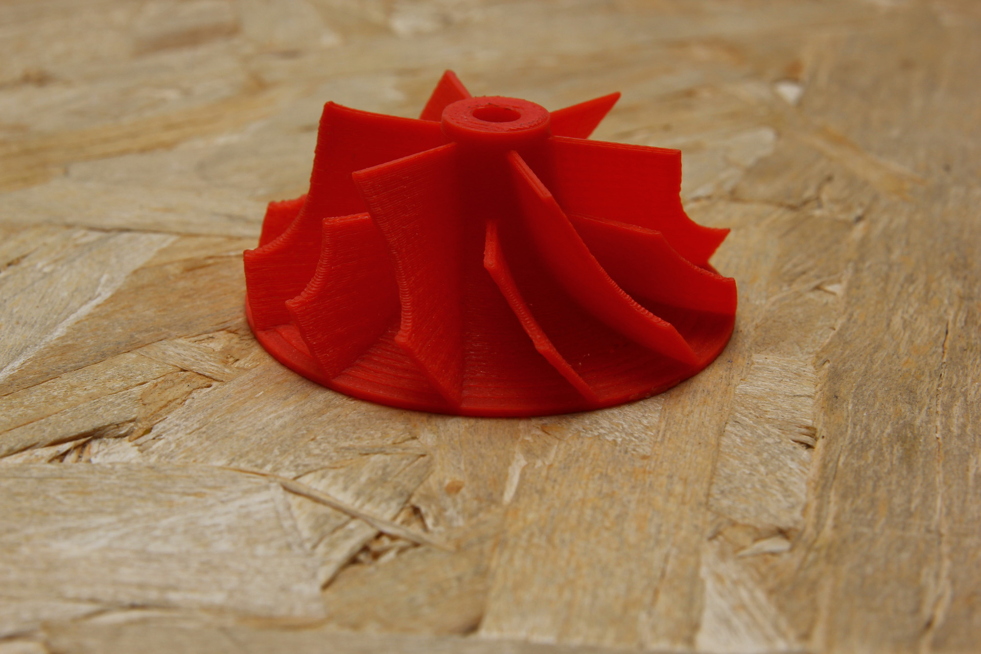 turbina stampata layer 0.2 pla plastaprint